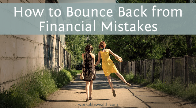 How to Bounce Back from Your Financial Mistakes