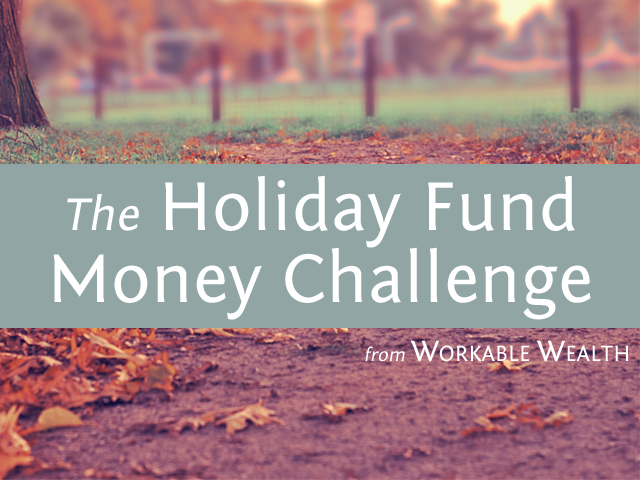 Holiday Fund Money Challenge