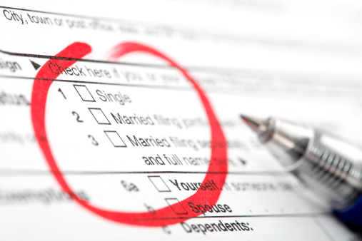 Taxes & Your Fiancé: What Changes after Marriage?
