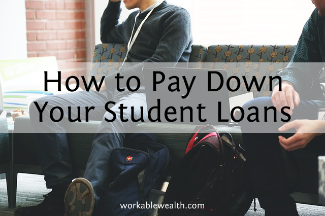 How to Start Paying Down Your Student Loans