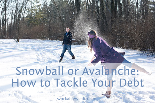 How to Tackle Your Debt: The Debt Snowball vs. the Debt Avalanche